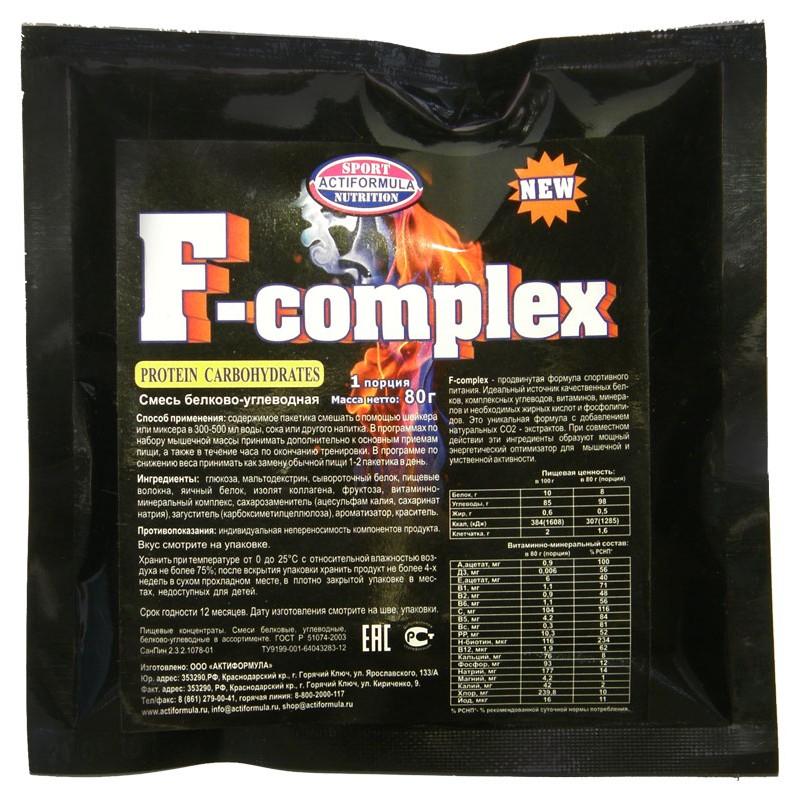 F`complex комплексная смесь(заменит.пищи)