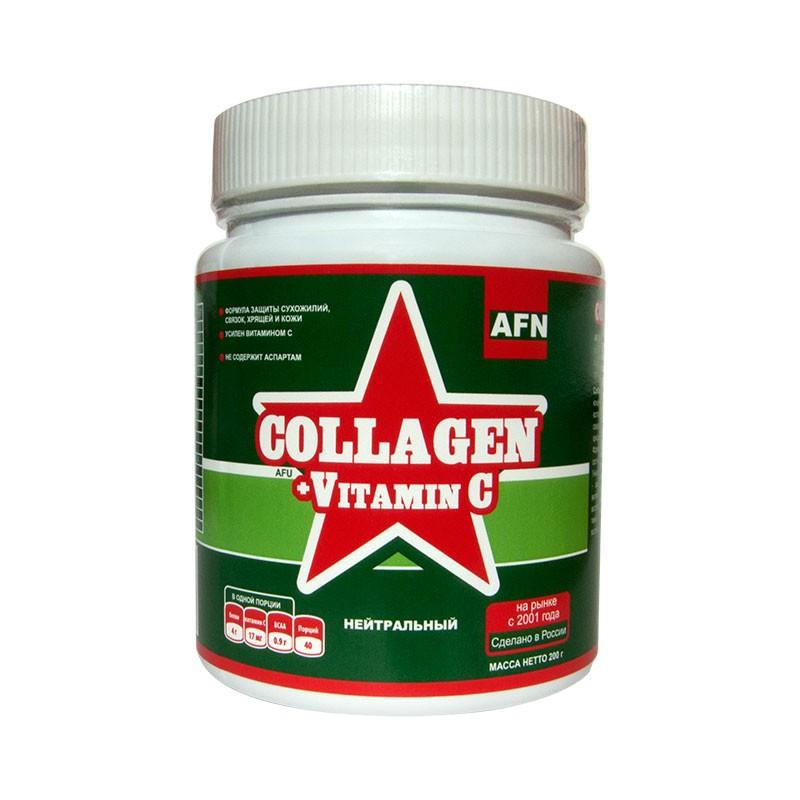 AF Collagen +Vitamin C, банка 200г