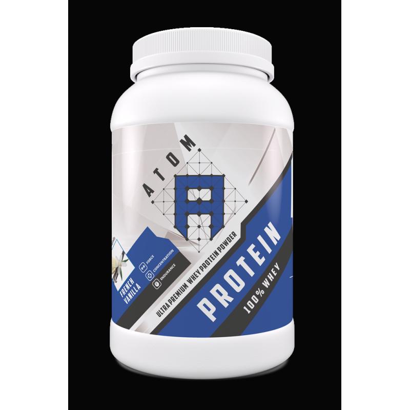 АTOM Protein 100% Whey - Ultra Premium Whey Protein Powder, 900г