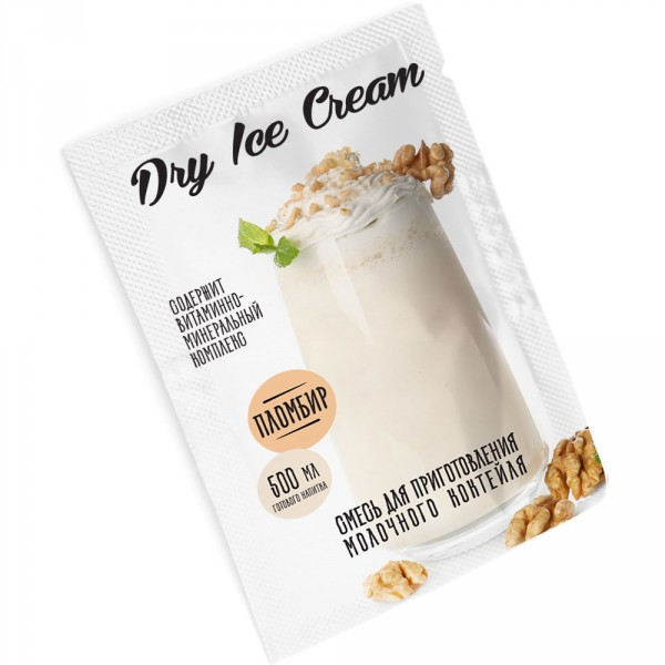 Заменитель мороженого «Dry Ice Cream» пломбир
