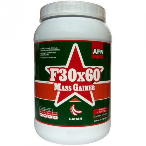 F30x60 Mass Gainer, 1кг