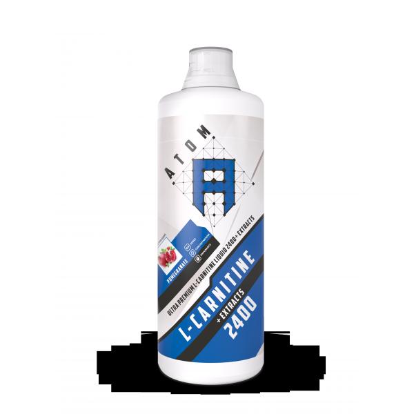 АТОМ L-carnitine Liquid 2400 + Extracts, 1л