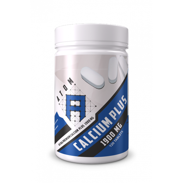 АТОМ Bone Formula Caps (Кальций + Витамин К2 + Витамин Д3 + Магний + Цинк), 120 каплет