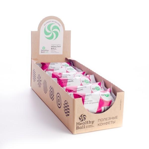 Полезные конфеты HealthyBall Slim, 30гр