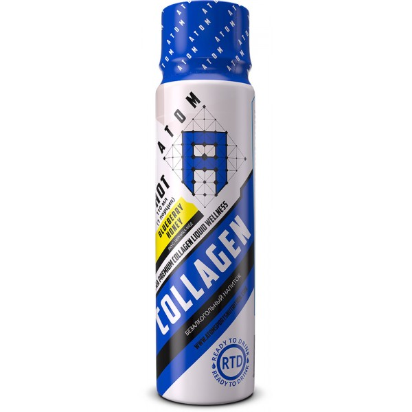 ATOM Collagen Liquid Wellness Shot, порция